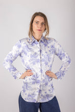Load image into Gallery viewer, Snowdrop Floral Silk Shirt