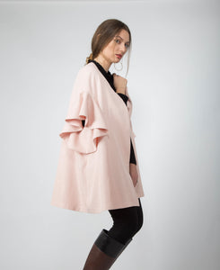 Rose Ladylike Coat