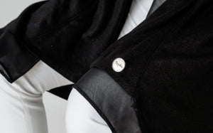 Black Pure Cotton Cardigan