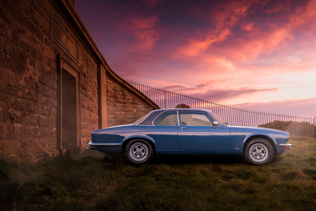 Jaguar XJ Coupe Art Print