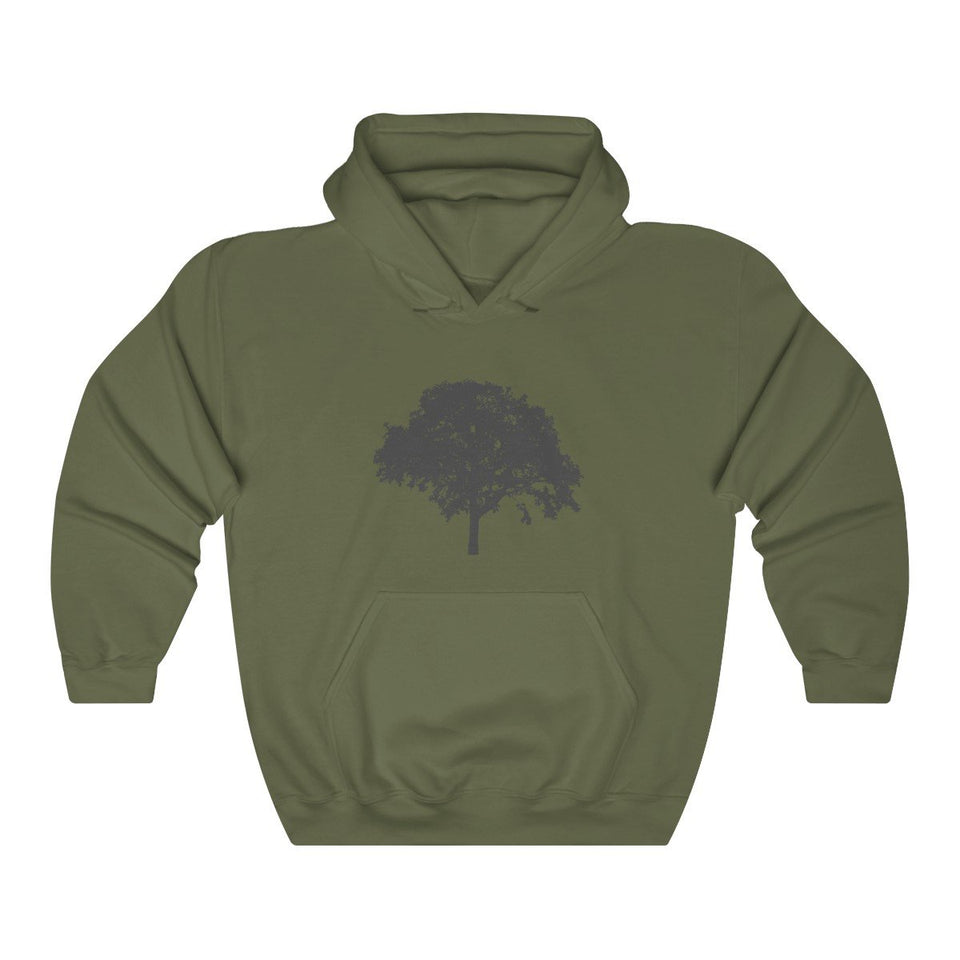 Hoodie - Oak Tree Long Sleeve Hoody For Men and Women - Wild Lifestyle Adventures