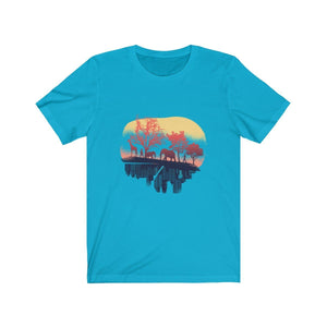 T-shirt - Nature And City For Men And Women - Wild Lifestyle Adventures