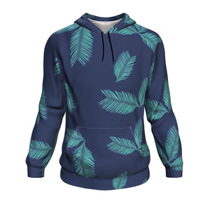 Hooded Sweatshirt Palm Tree Leafs Long Sleeve Hoody For Men and Women - Wild Lifestyle Adventures