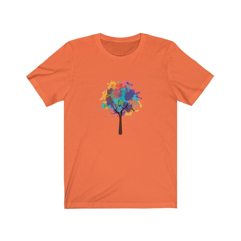 T-shirt - Colored Tree For Men And Women - Wild Lifestyle Adventures