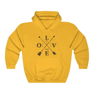 Hooded Sweatshirt - Love Outdoors Long Sleeve Hoody For Men and Women - Wild Lifestyle Adventures