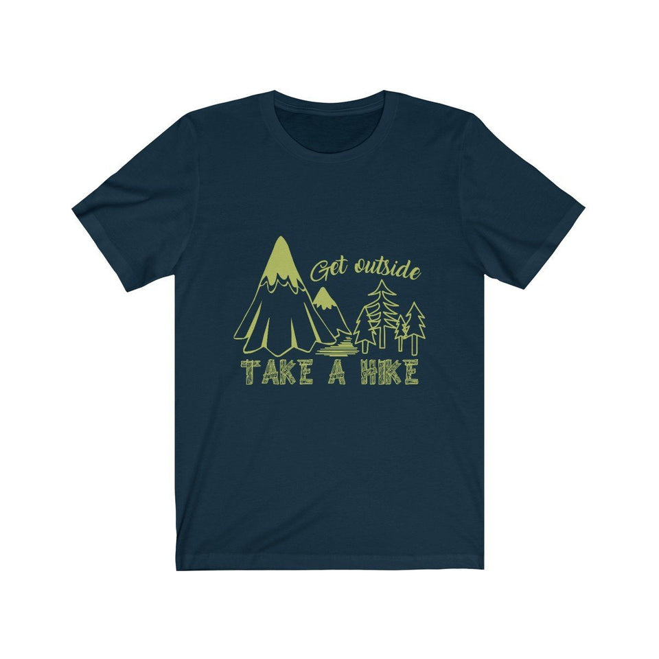 Take A Hike Unisex Short Sleeve T-shirt - Wild Lifestyle Adventures