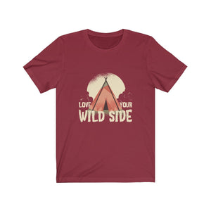 T-shirt - Love Your Wild Side For Men And Women - Wild Lifestyle Adventures