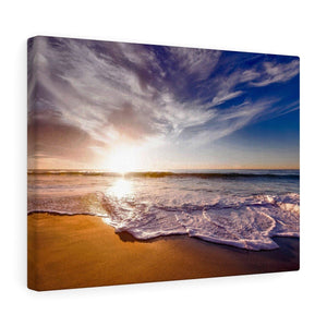 Ocean Sunset Canvas Wall Art - Wild Lifestyle Adventures