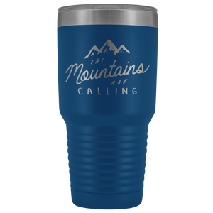 John Muir The Mountains Are Calling 30oz Stainless Steel Thermos Tumbler - Wild Lifestyle Adventures