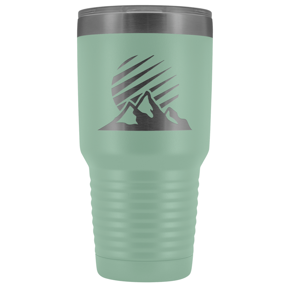 The Mountains 30oz Stainless Steel Tumbler - Wild Lifestyle Adventures
