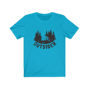 T-shirt - Outsider Camping For Men And Women - Wild Lifestyle Adventures