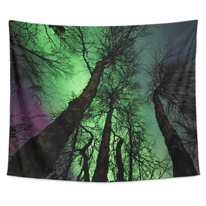 Northern Lights Tapestry Wall Hanging - Wild Lifestyle Adventures