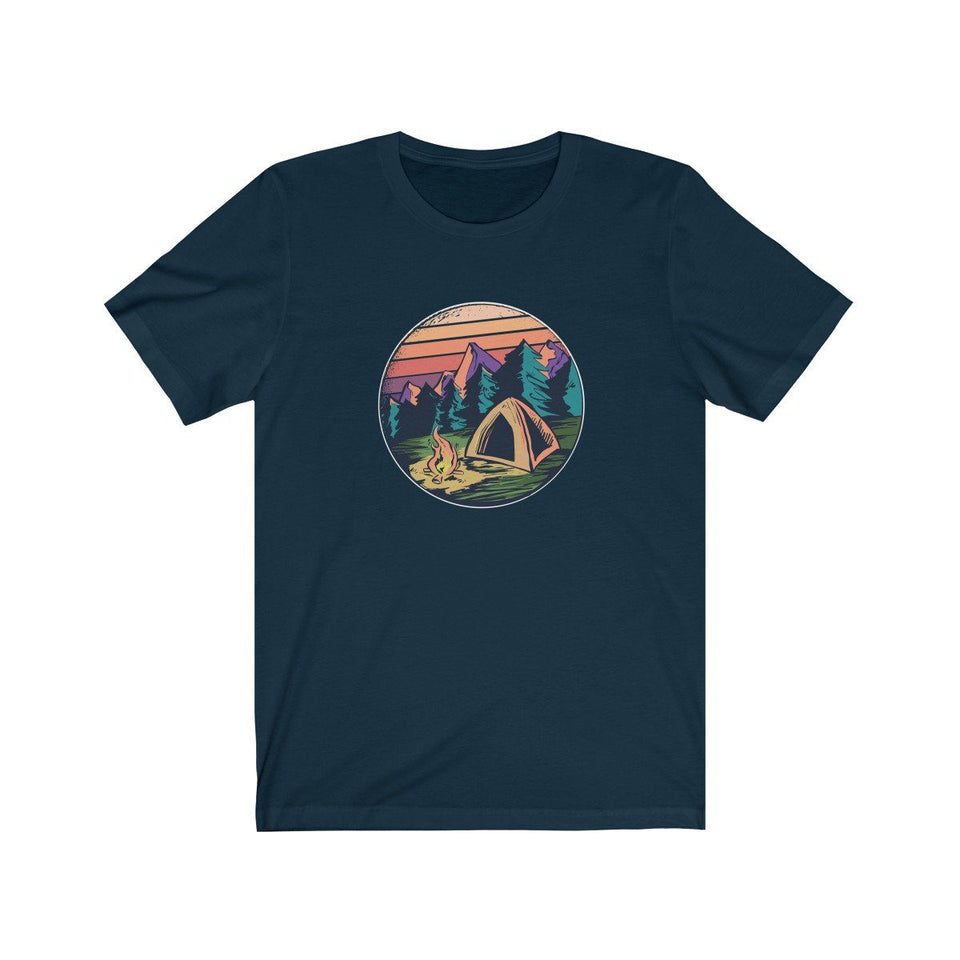 T-shirt - Life Is Good Camping For Men And Women - Wild Lifestyle Adventures