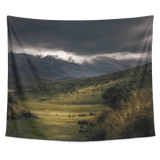 Mountain Range Scenery Tapestry Wall Hanging - Wild Lifestyle Adventures