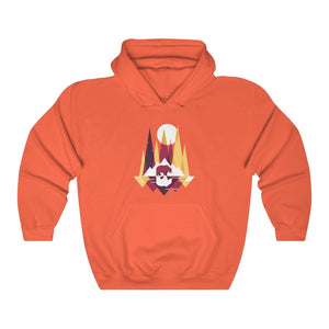 Hoodie - Bear Graphic Long Sleeve Hoody For Men and Women - Wild Lifestyle Adventures