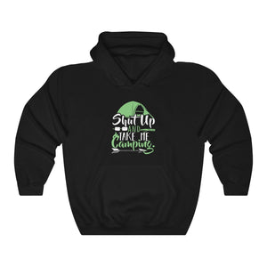 Hooded Sweatshirt - Shut Up And Take Me Camping Long Sleeve Hoody For Men and Women - Wild Lifestyle Adventures
