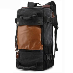 Pebblewood Functional Versatile Canvas Backpack - Wild Lifestyle Adventures