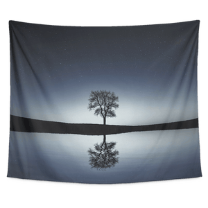 Mirror Tree Tapestry Wall Hanging - Wild Lifestyle Adventures