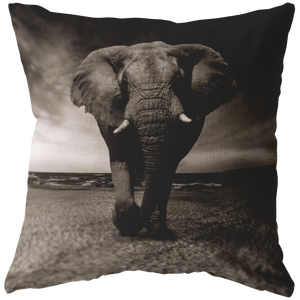 The Mighty Elephant Pillow - Wild Lifestyle Adventures