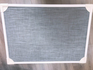 Elevated Pet Bed- Large grey