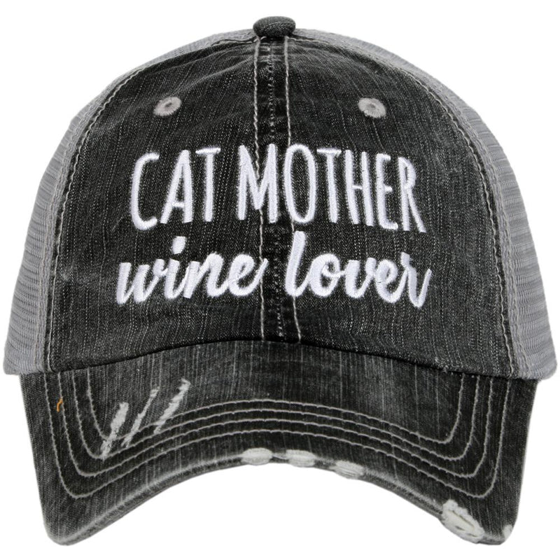 8ec913849ebaf Cat Mother Wine Lover