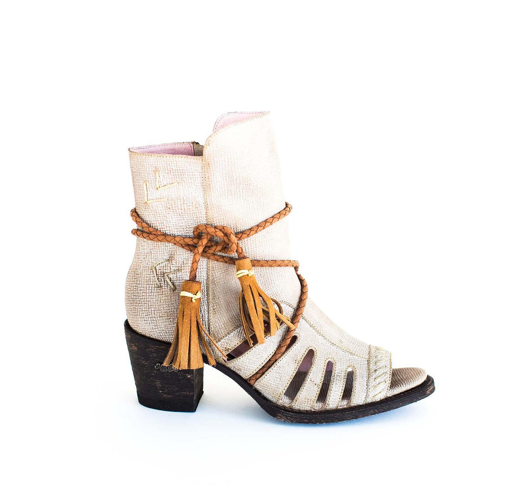 Miss Macie Boots Inspired Collection - Singing Brook in White Wash