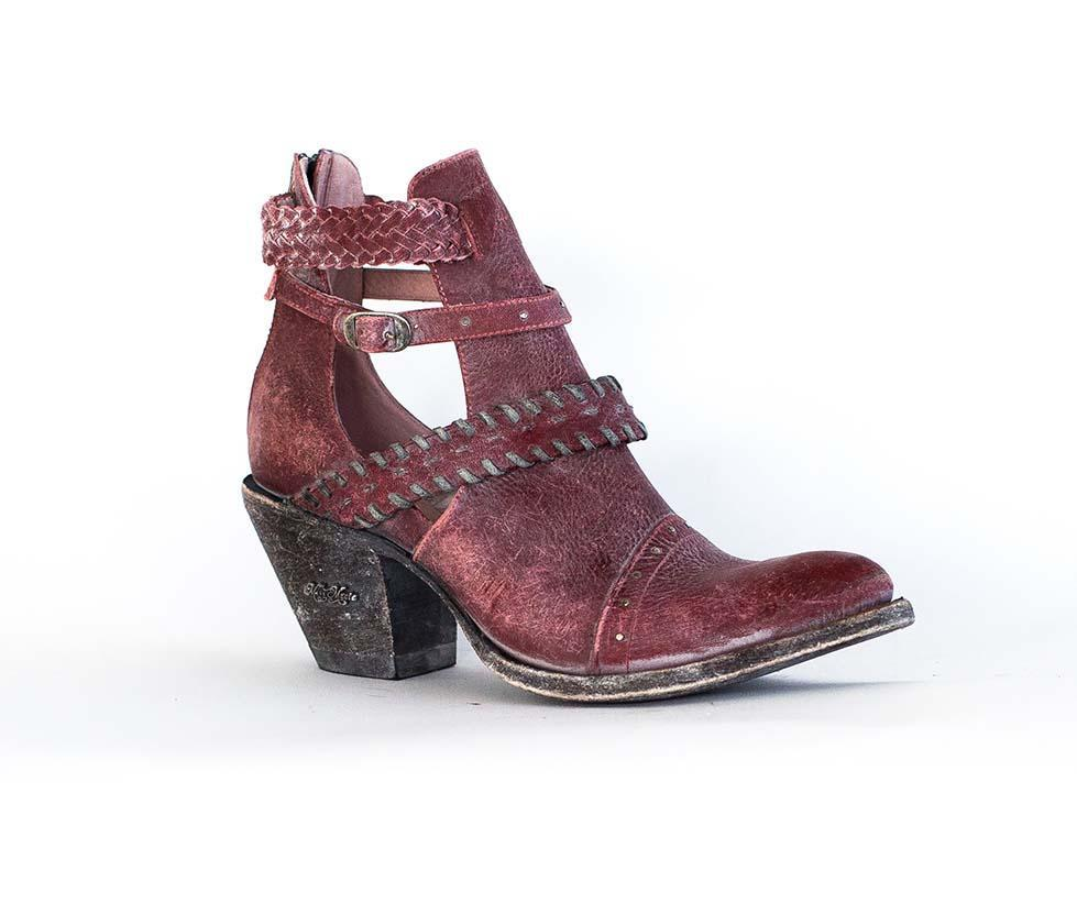 Miss Macie Boots Inspired Collection - I Dare You in Red