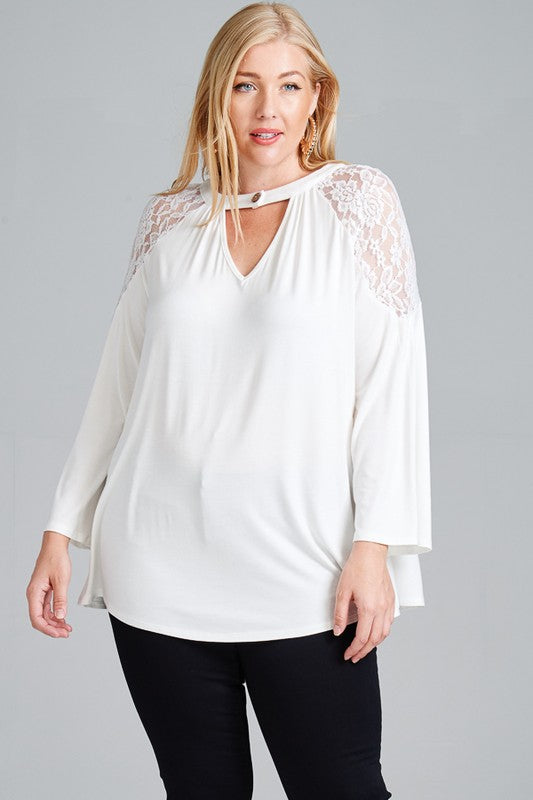 You've Got My Heart Top~Curvy Collection