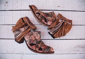 Miss Macie Boots Inspired Collection - Mercy Me in Floral