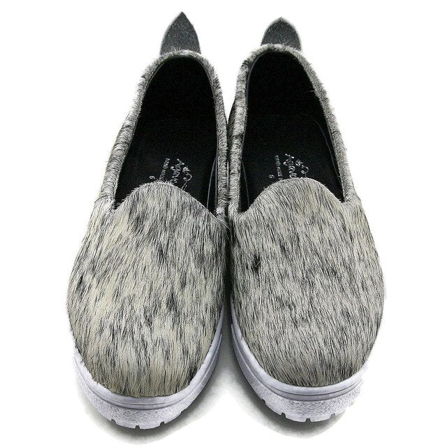 Cowhide Tennis Shoes