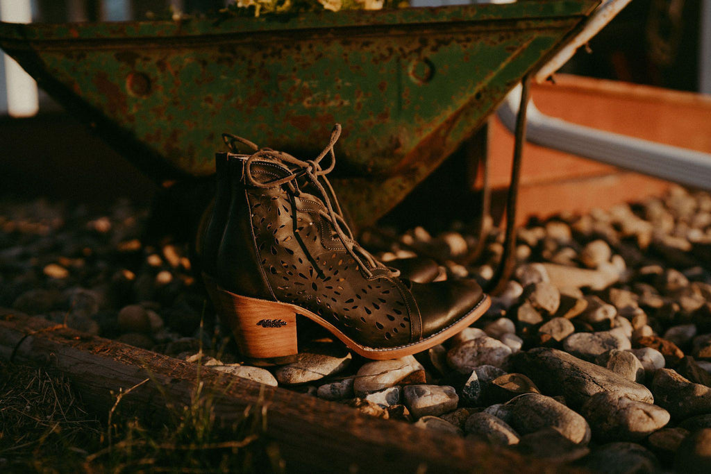 Miss Macie Boots Inspired Collection - Waitin' on Friday in Black