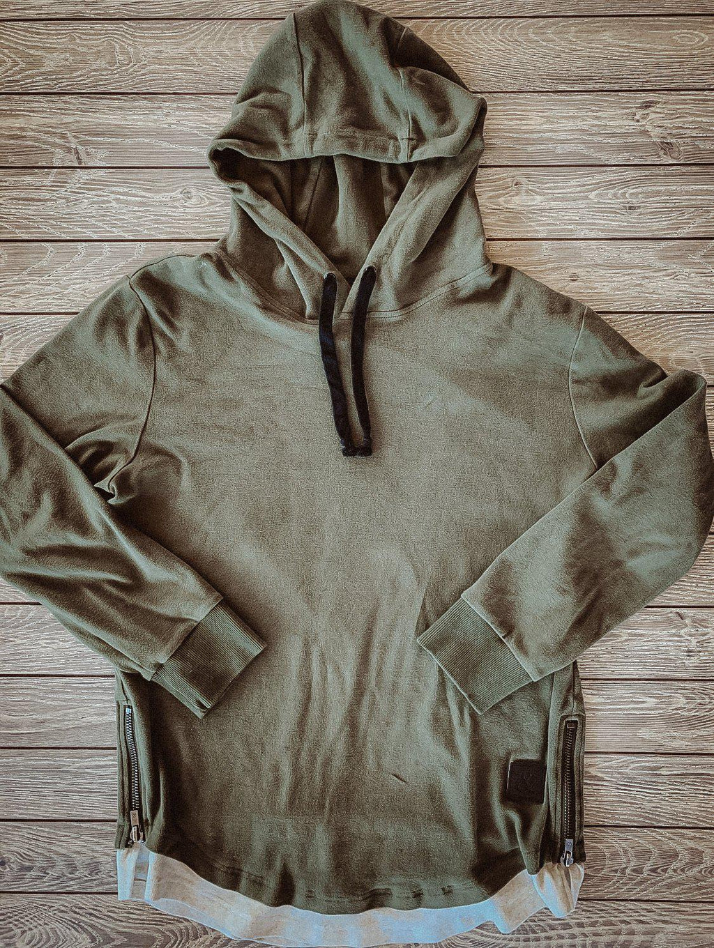 Men's Ampersand Avenue Domination Layered Hoodie - Sage