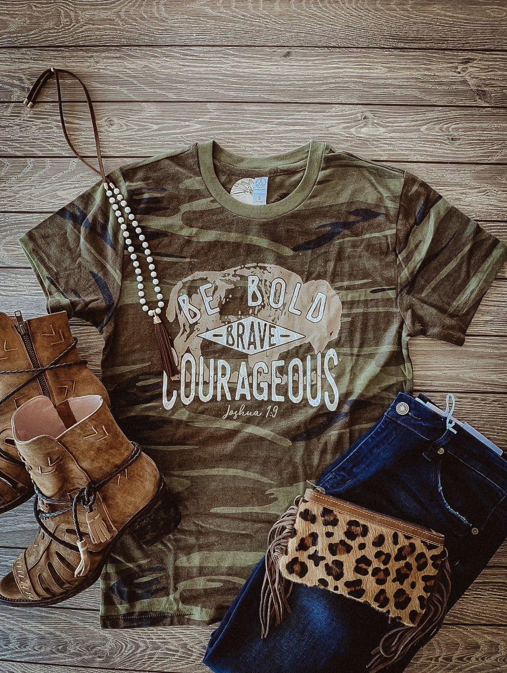 Courageous Buffalo Tee
