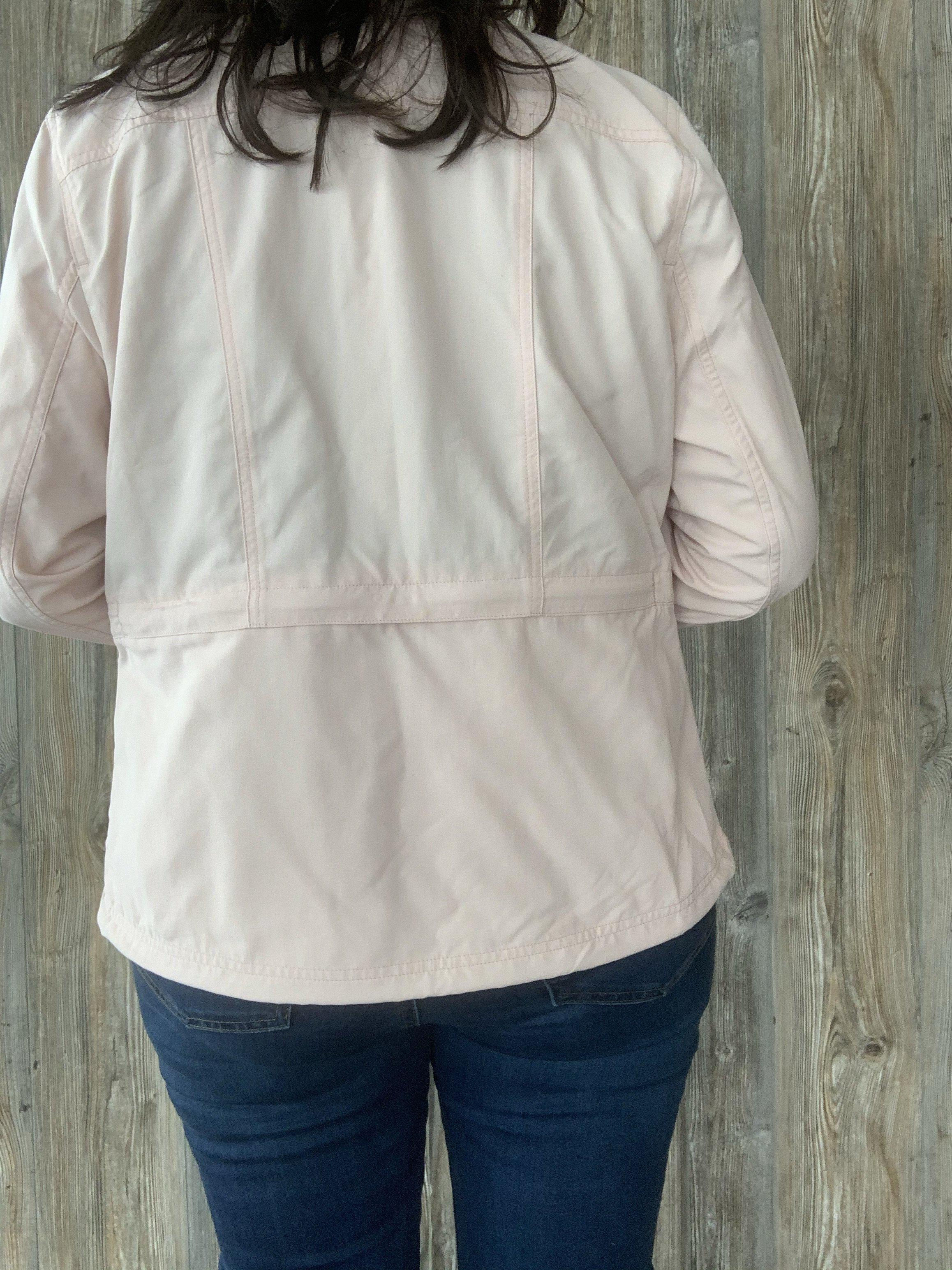Pocket Full of Posies Light Pink Jacket