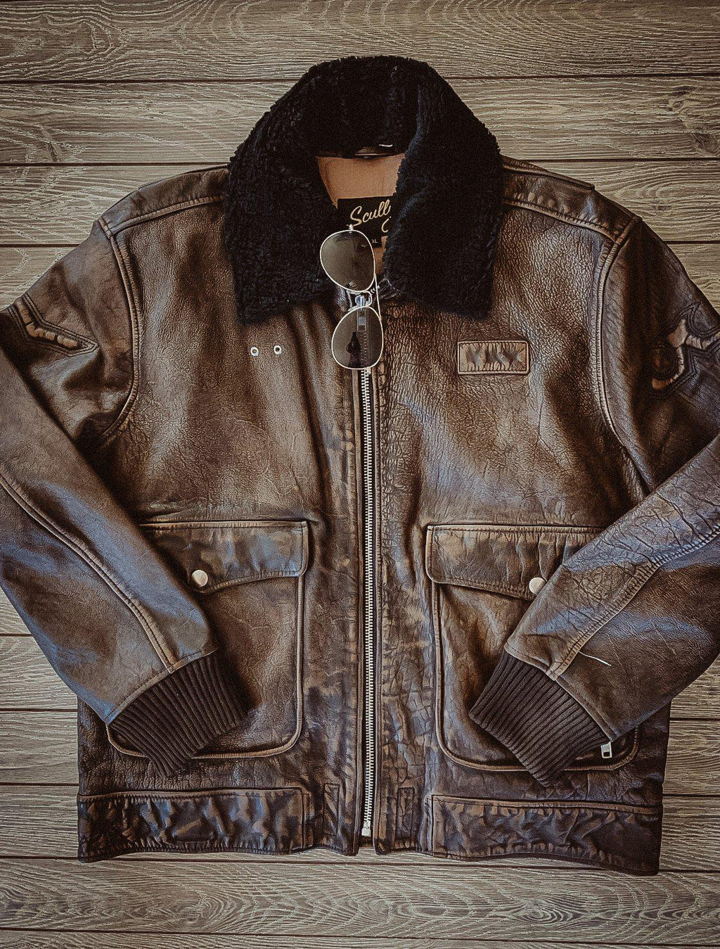Men's Bomber Eagle Jacket
