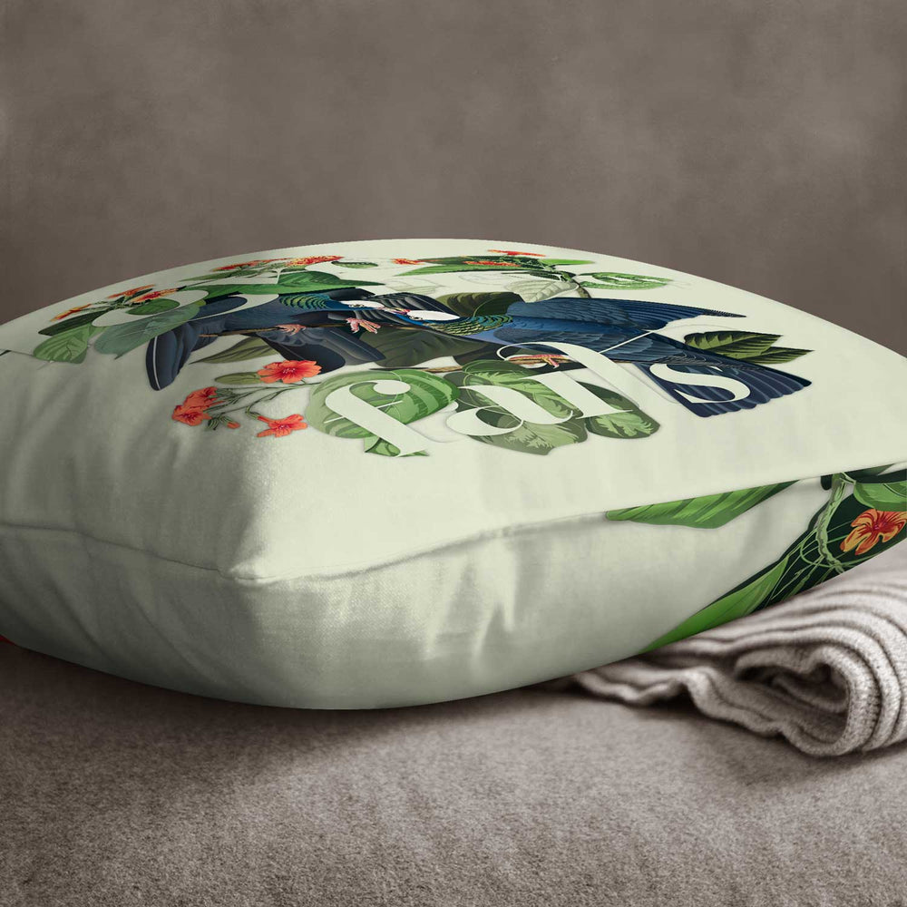 Love Never Fails — Audubon Birds Throw Pillows