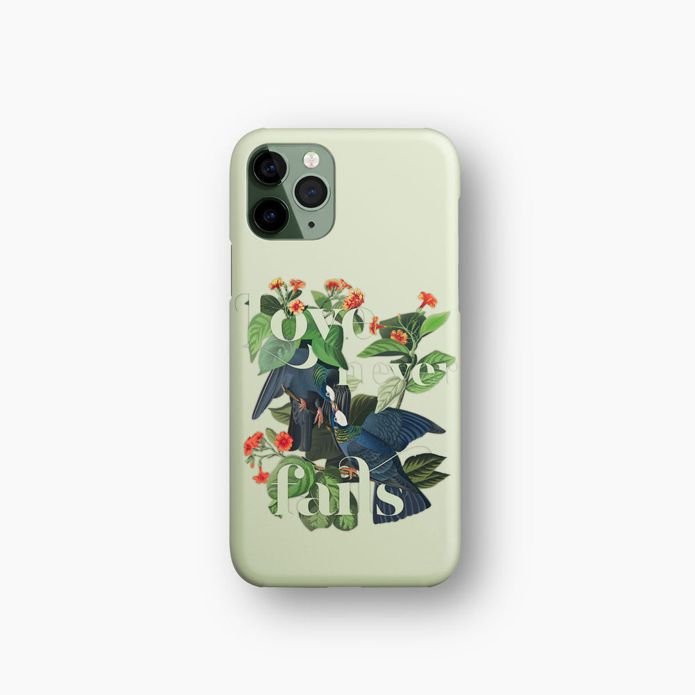 Load image into Gallery viewer, Love Never Fails — Audubon Birds iPhone Case