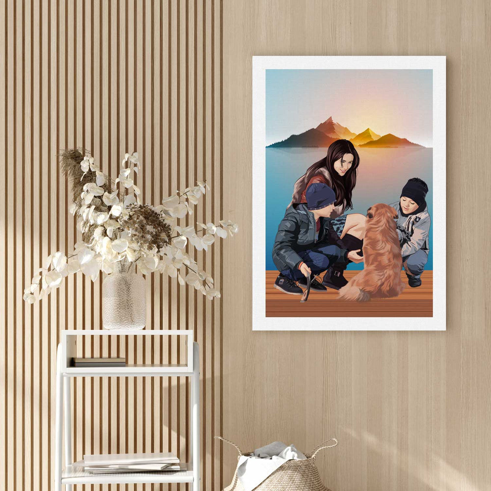 Load image into Gallery viewer, Pet Canvas Painting