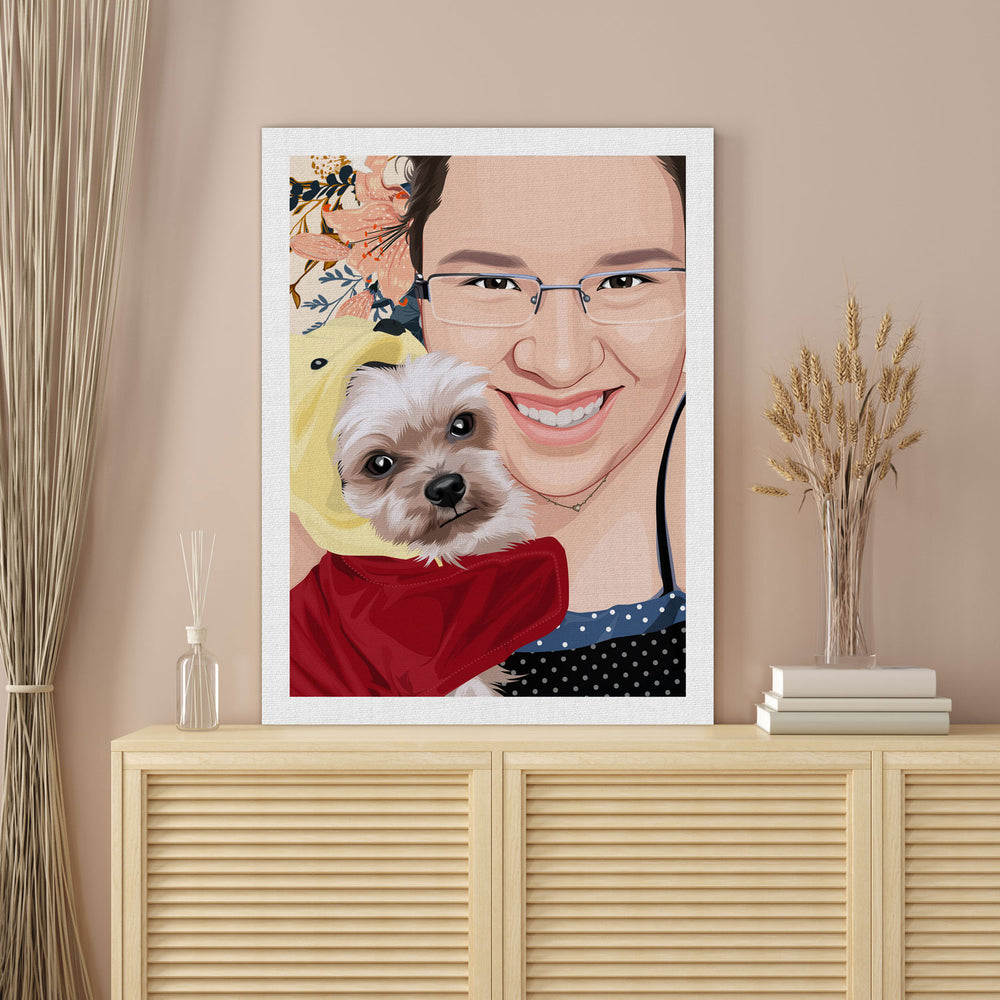 Pet Canvas Painting