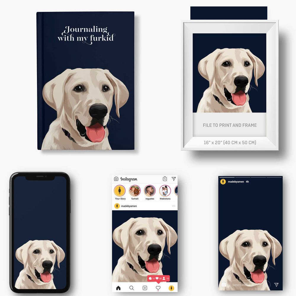 Load image into Gallery viewer, Customised Pet Notebooks