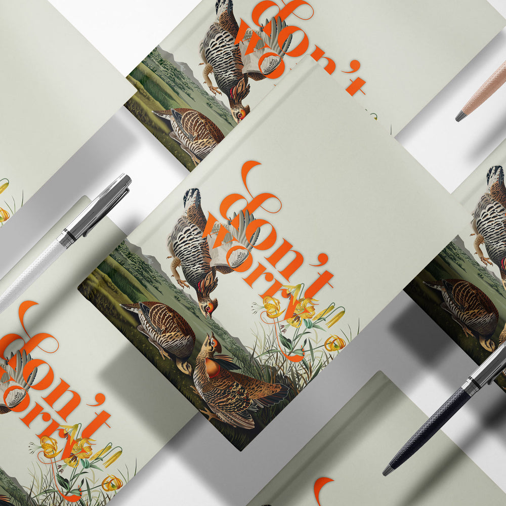 Load image into Gallery viewer, Don't Worry — Audubon Birds Notebooks