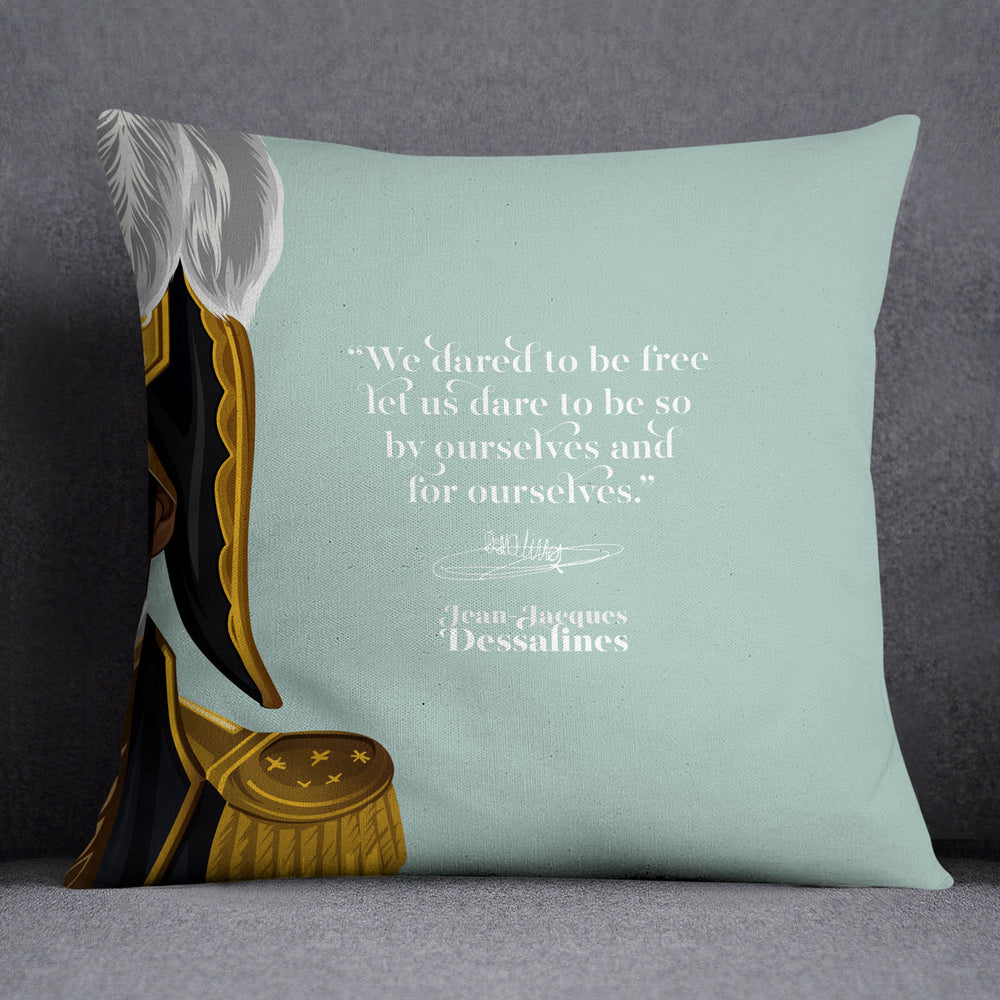 Jean Jacques Dessalines — Throw Pillow