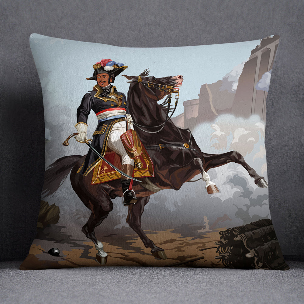 Thomas Alexandre Dumas — Throw Pillow