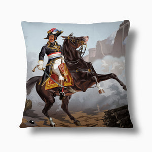 Load image into Gallery viewer, Thomas Alexandre Dumas — Throw Pillow