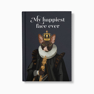 The Emperor — Customised Royal Pet Notebooks