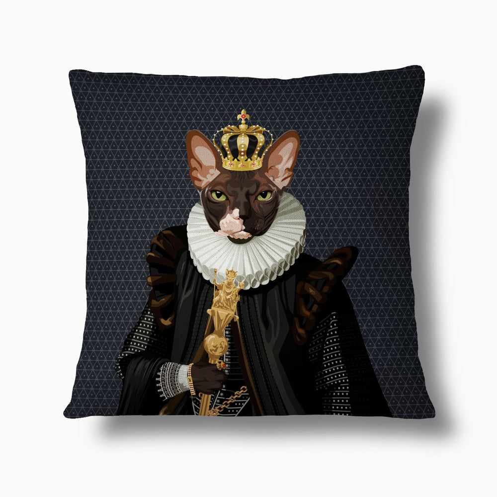 Load image into Gallery viewer, The Emperor — Royal Pet Pillow