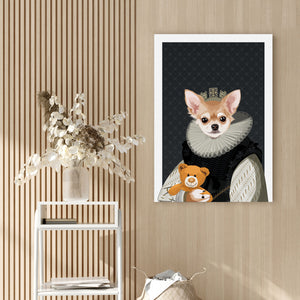 Load image into Gallery viewer, The Princess — Royal Pet Portrait