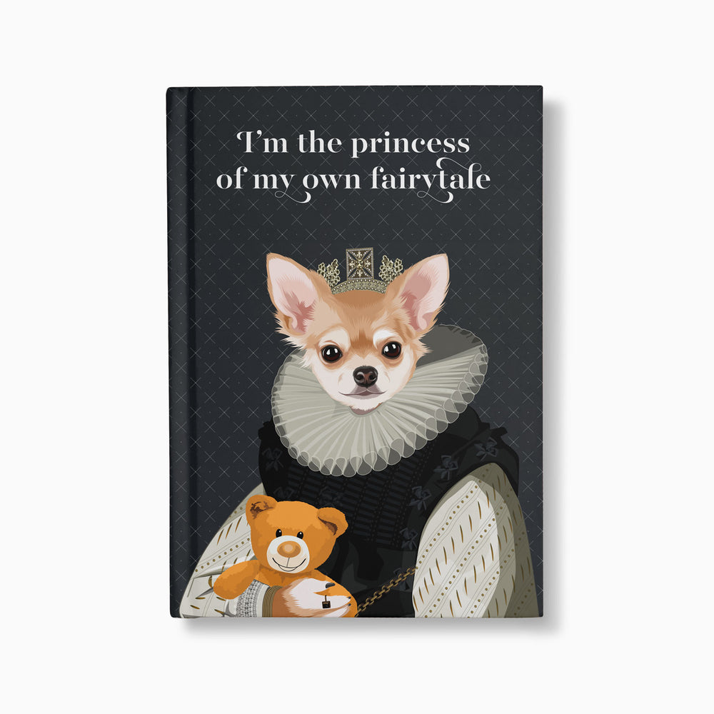 Load image into Gallery viewer, The Princess — Customised Royal Pet Notebooks