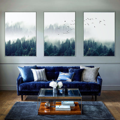 Nordic Forest Canvas