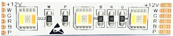 Flex-LED SMD5050 RGBWwKw 5in1